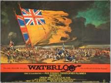 Waterloo (1970) British Quad film poster