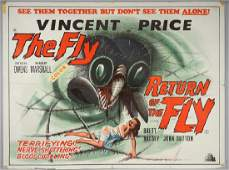 The Fly / Return of The Fly (R-1960's) B