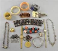 Large collection of jewellery including Indian cu