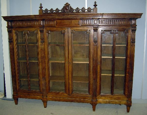 1: Continental  library bookcase