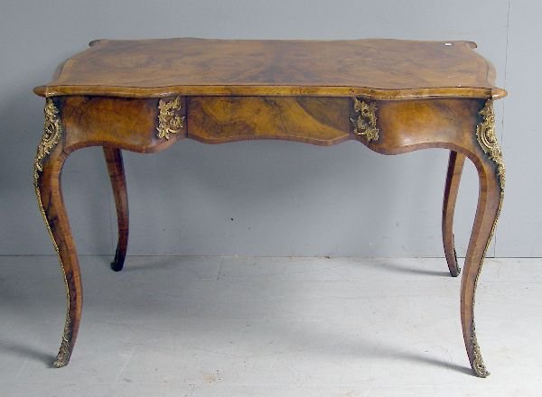 24: Late 19th century French walnut and