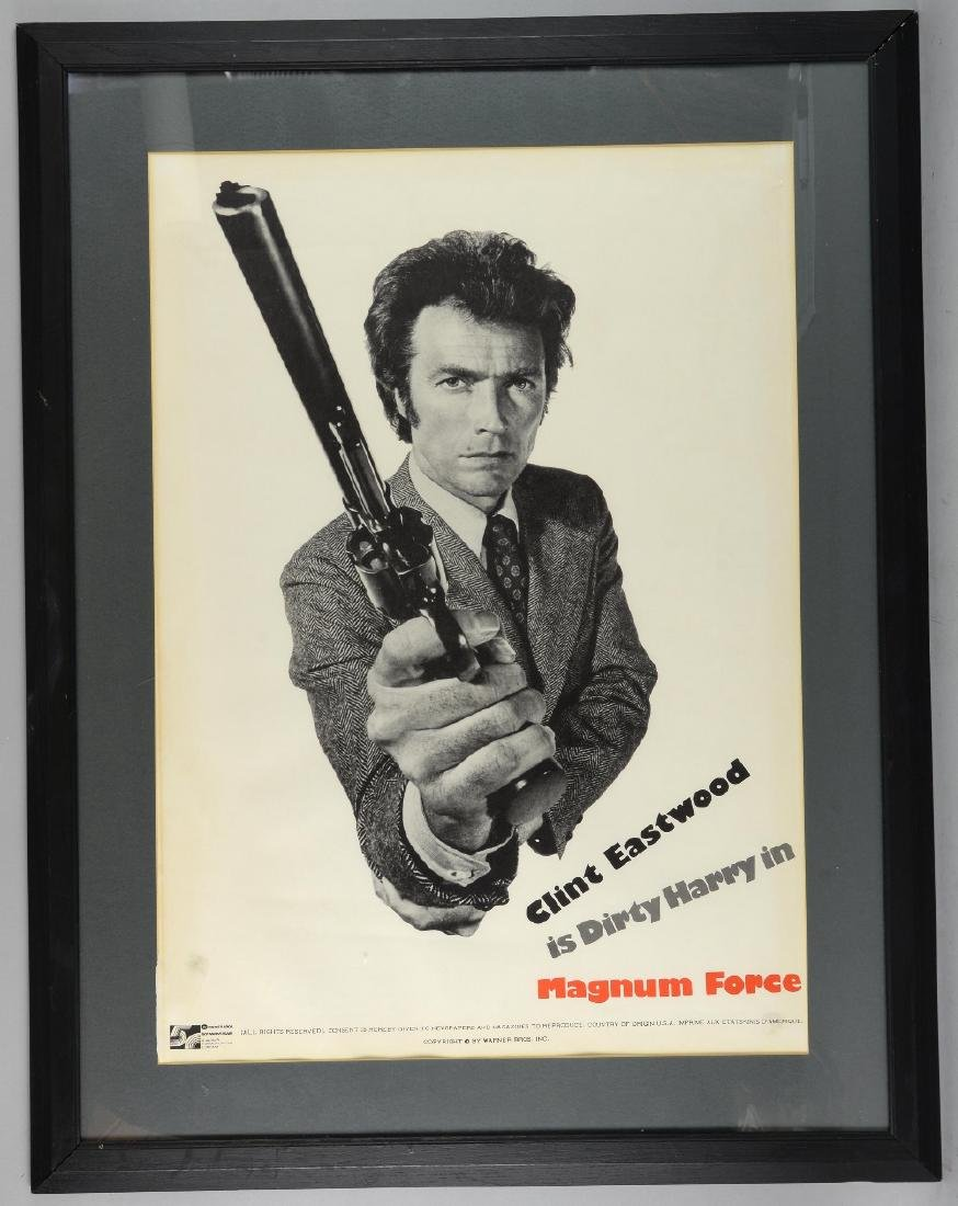 Magnum Force (1973) US Special poster, showing Cli