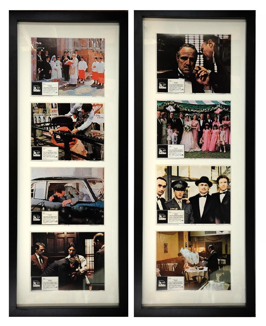 The Godfather (1972) Set of 8 US Lobby cards, star
