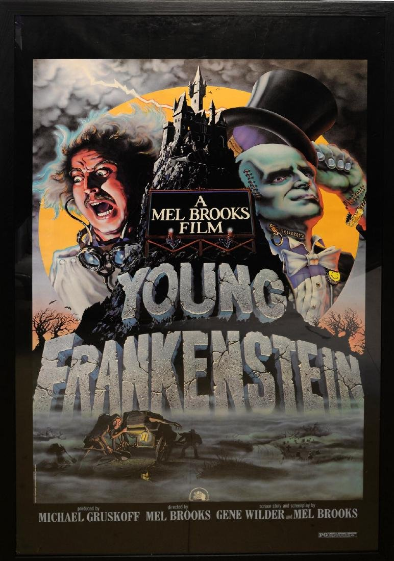 Young Frankenstein (1974) US Special poster, starr