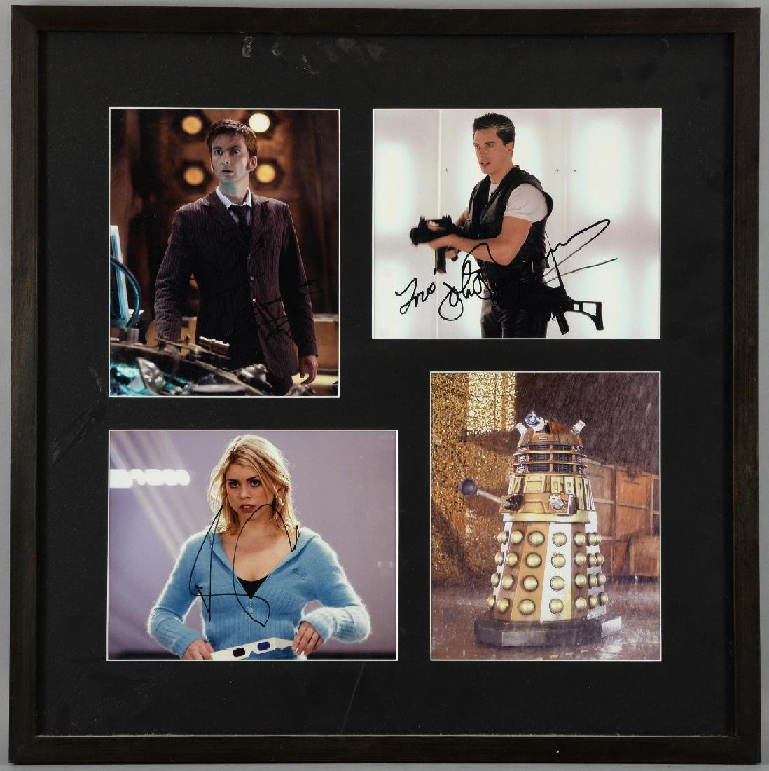Doctor Who - BBC TV Series, a signed photographic