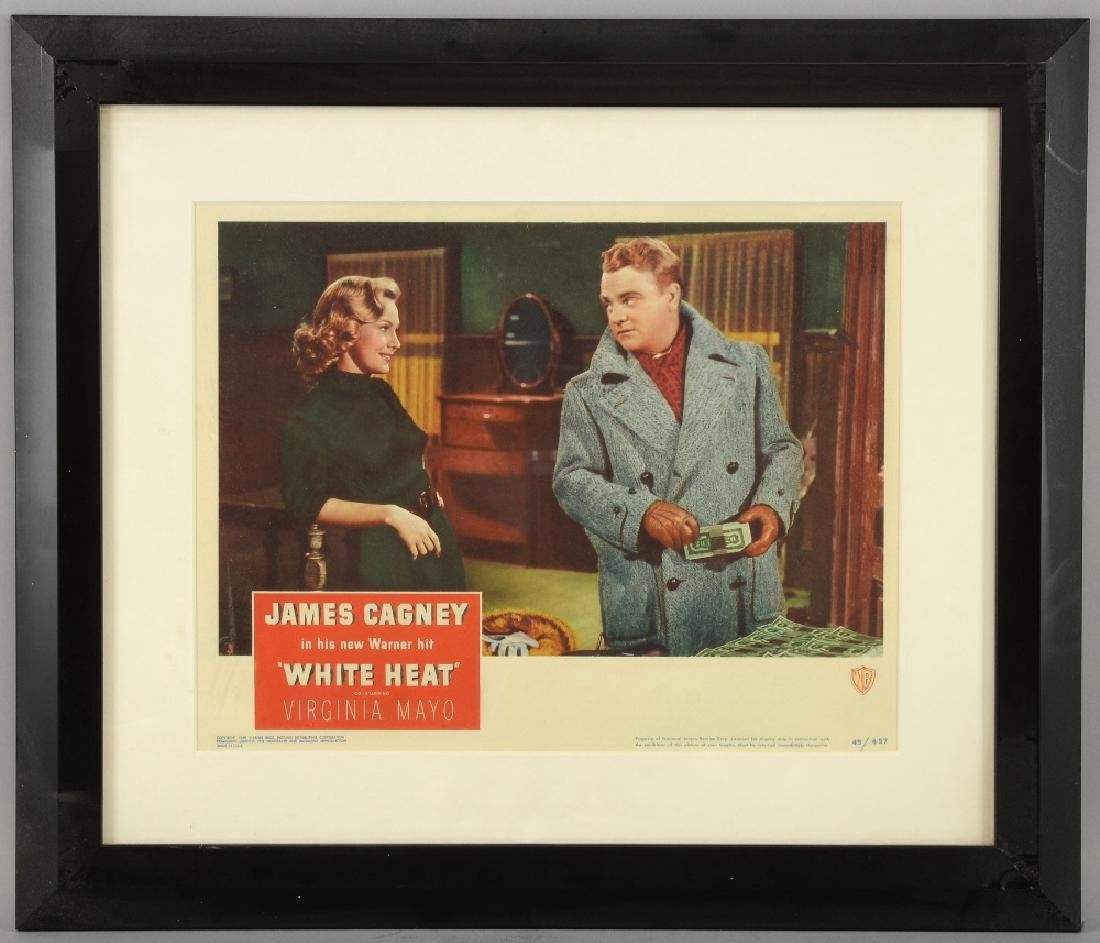 White Heat (1949) US lobby card, starring James Ca