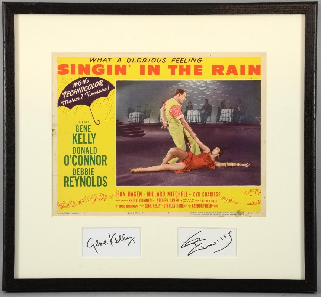 Singin' In The Rain (1952) US Lobby card, mounted