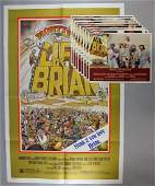 Monty Python's Life of Brian (1979) Set of 8 US Lo