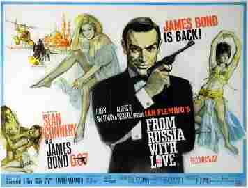 James Bond From Russia With Love (1963) British Qu