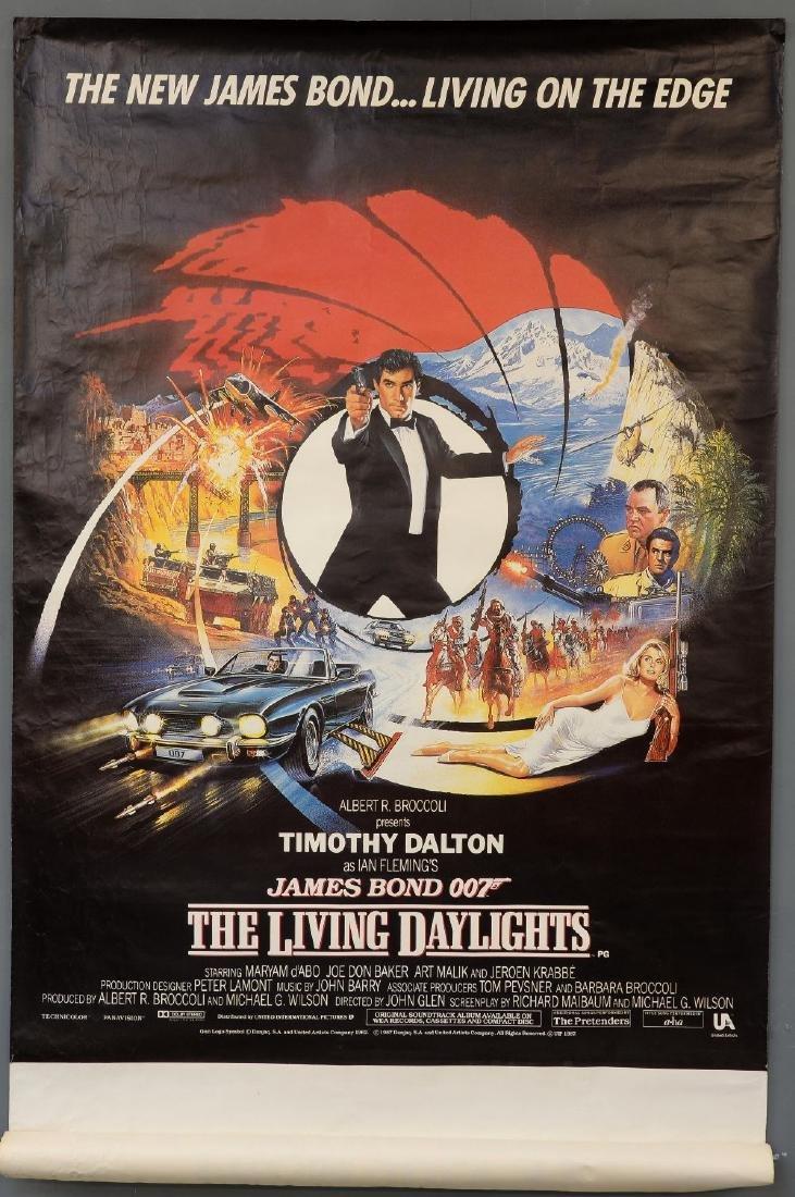 James Bond The Living Daylights (1987) British bus