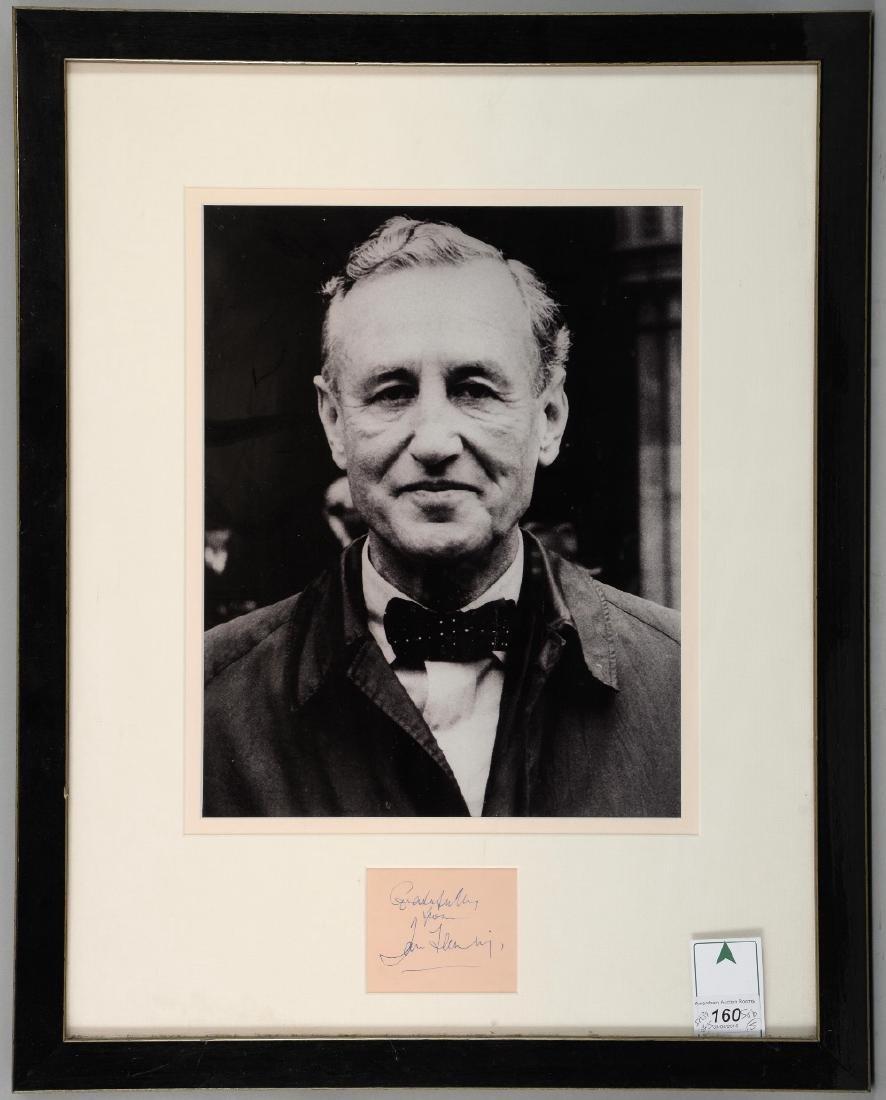 Ian Fleming (1908-64) British Author & Creator of