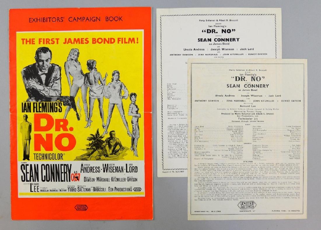 James Bond Dr. No (1962) UK Exhibitors' Campaign B