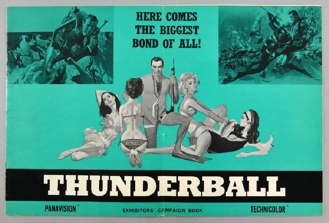James Bond Thunderball (1965) UK Exhibitors' campa