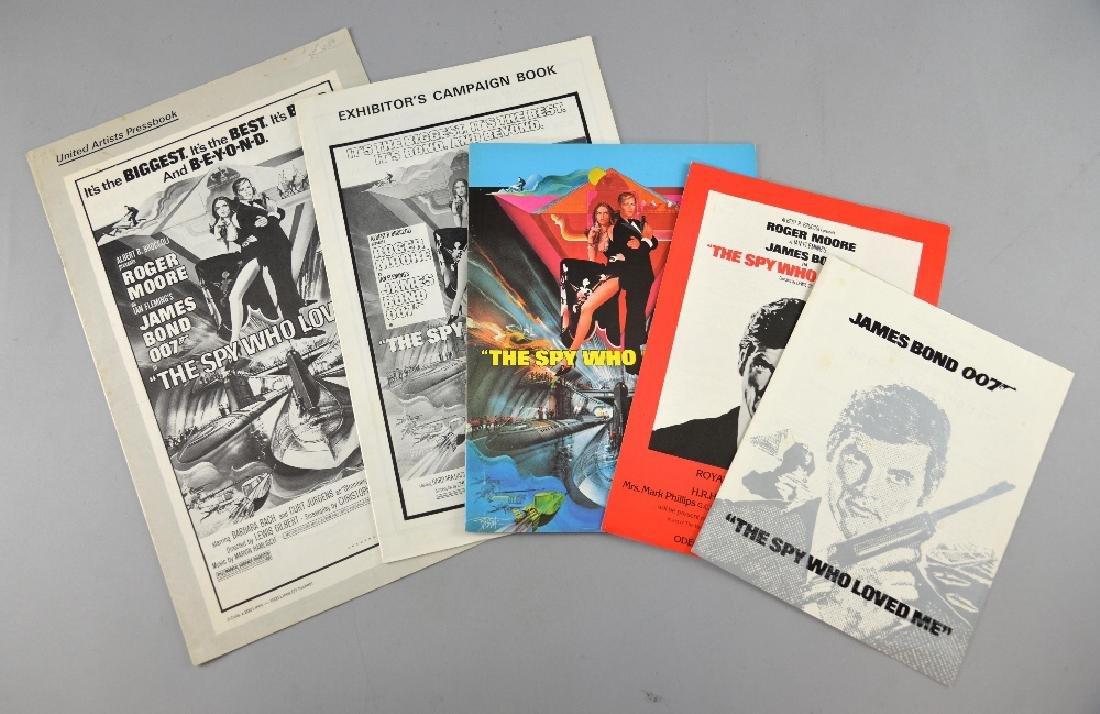 James Bond The Spy Who Loved Me (1977) Pressbook (