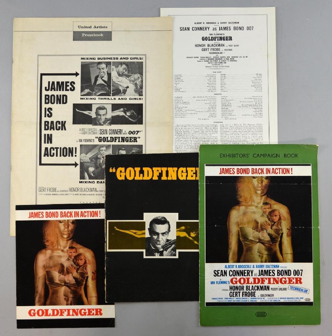 James Bond Goldfinger (1964) Pressbook (no cuts) 1