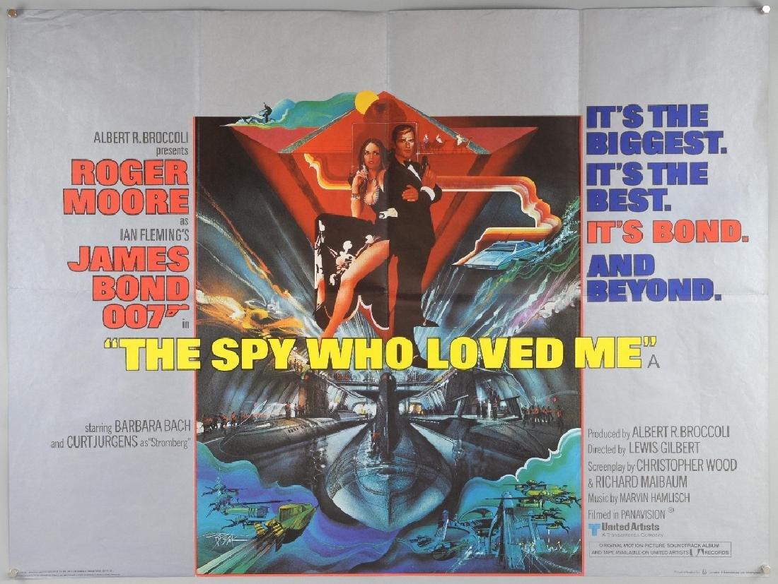 James Bond The Spy Who Loved Me (1977) British Qua