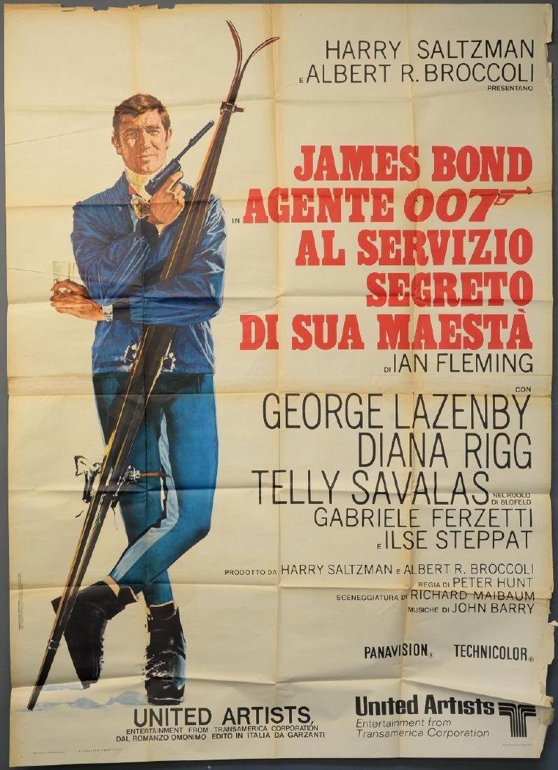 James Bond On Her Majesty's Secret Service (1969)