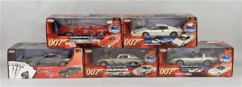 Joyride James Bond 007 - Five die cast models incl