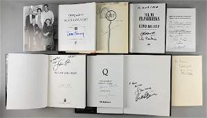 James Bond - Eight signed books including Sean Con