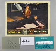 James Bond Goldfinger 1964 US Lobby card No 8