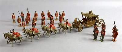 Circa 1937 Britains Coronation Display horsedrawn