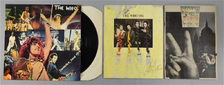 Two The Who concert programmes: 1981 one autograph