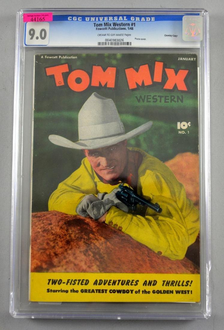 Tom Mix Western No. 1 Crowley Copy pedigree (Fawce