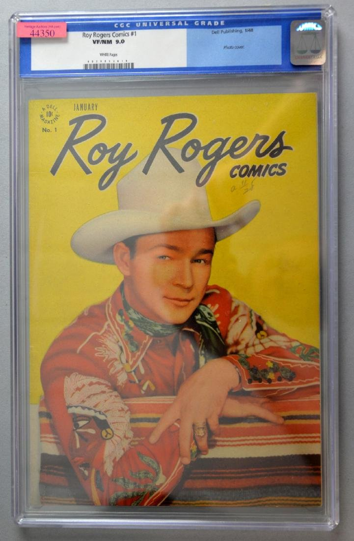 Roy Rogers Comics No. 1 (Dell, 1948) CGC VF/NM 9.0