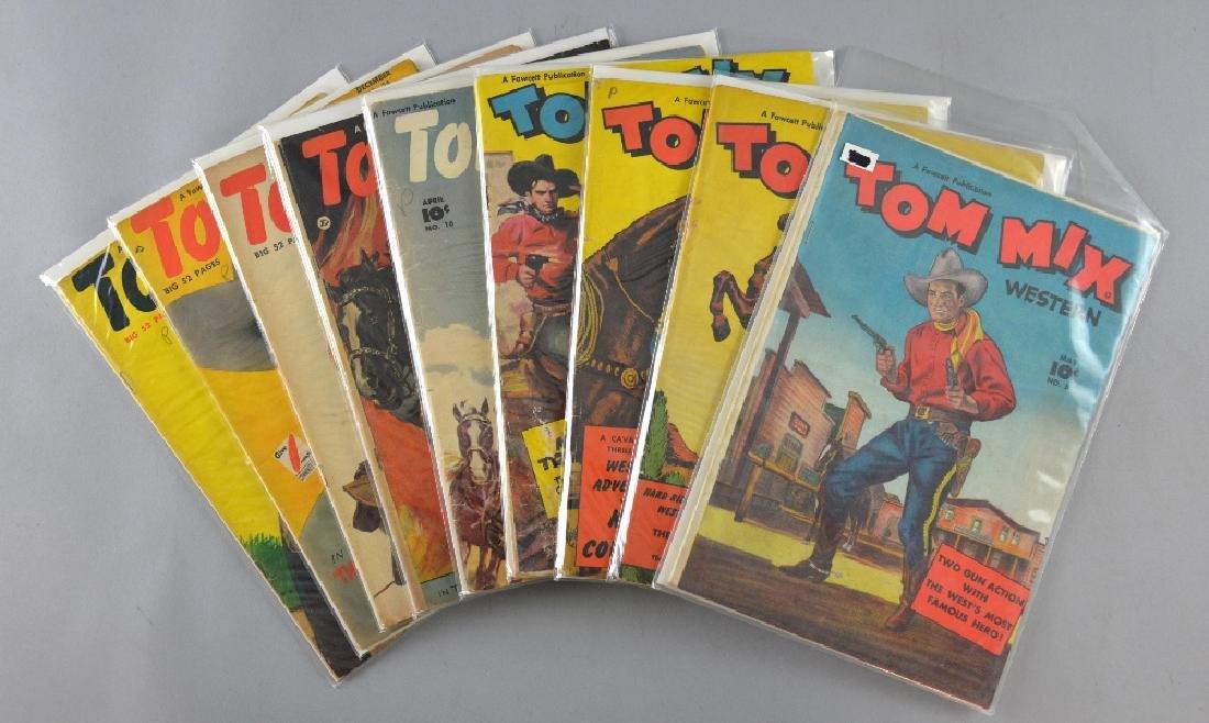 Tom Mix Western Comics (Fawcett, 1948-53) 5, 6, 12