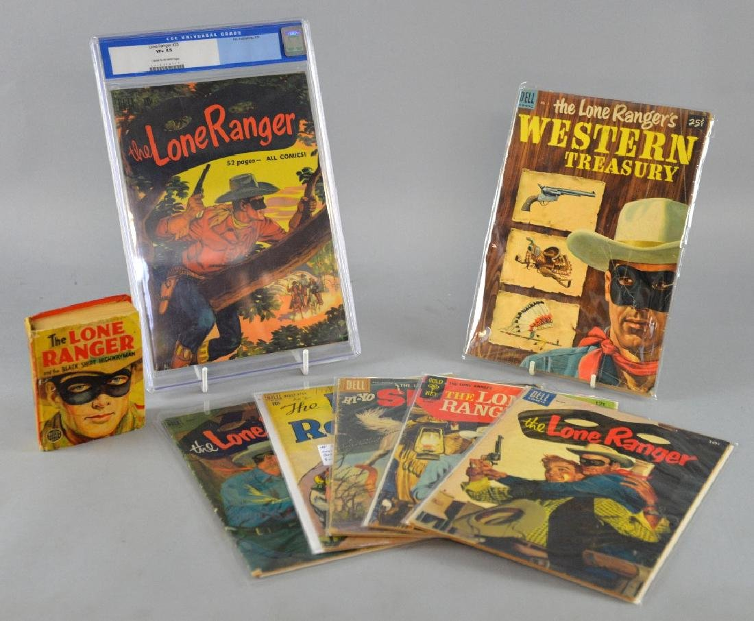 The Lone Ranger collection (Gold Key/Dell Publishi