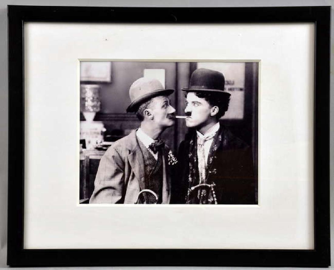 Charlie Chapin - 12 vintage black & white film sti