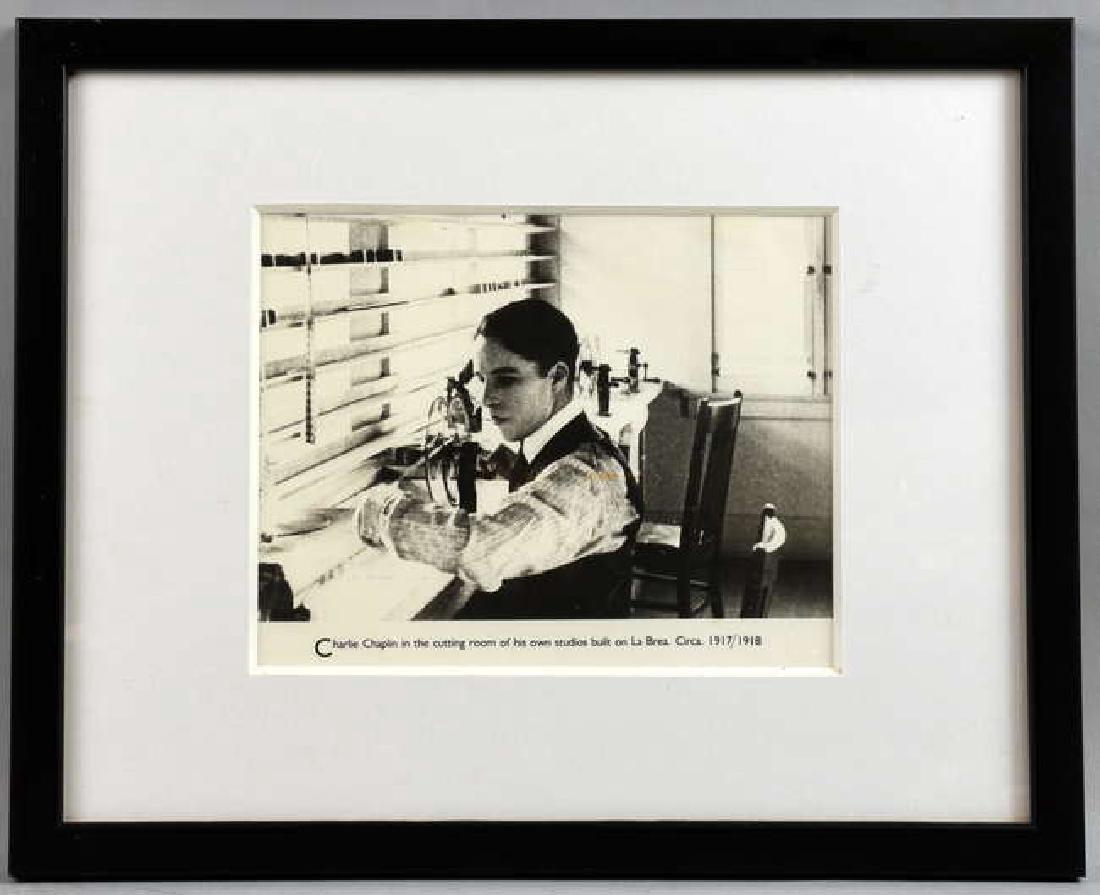 Charlie Chapin - 12 vintage black & white film sti - 3