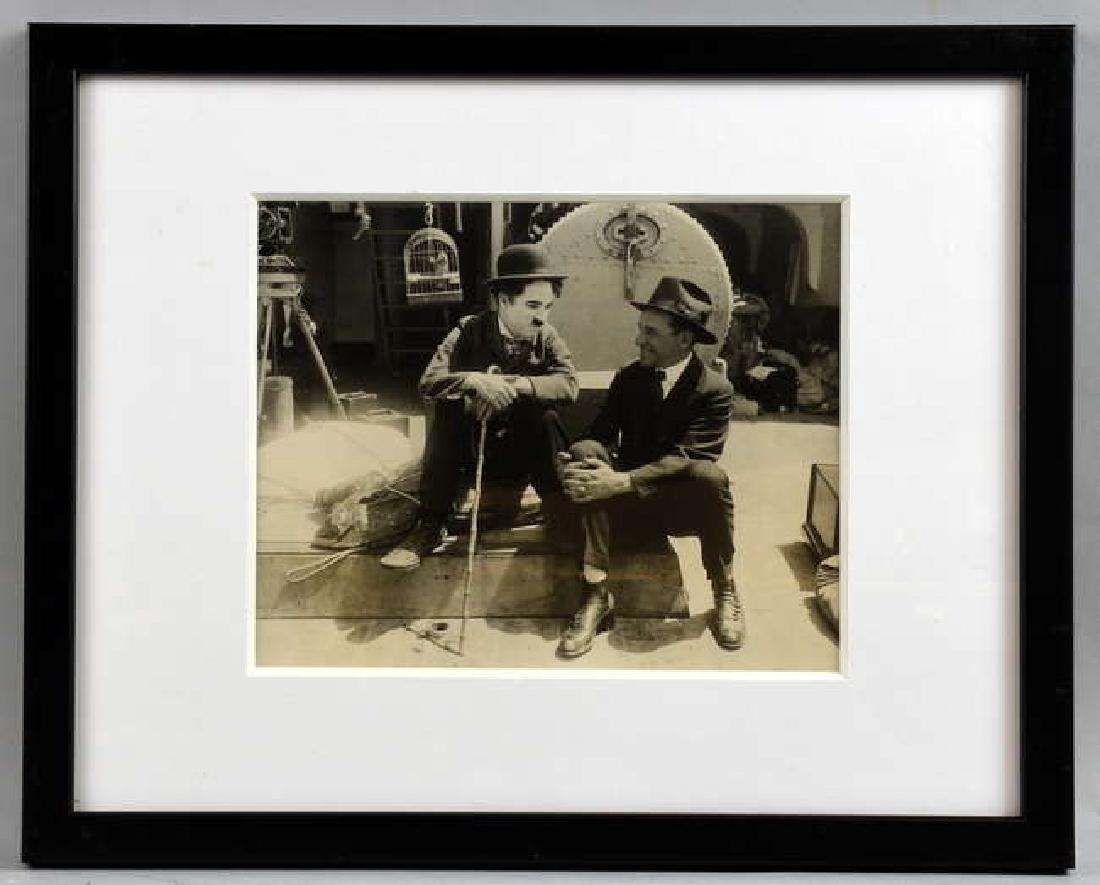 Charlie Chapin - 12 vintage black & white film sti - 5