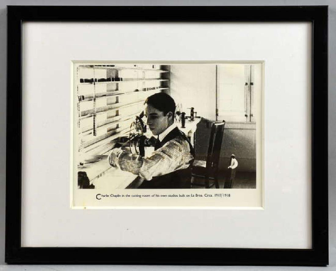 Charlie Chapin - 12 vintage black & white film sti - 6
