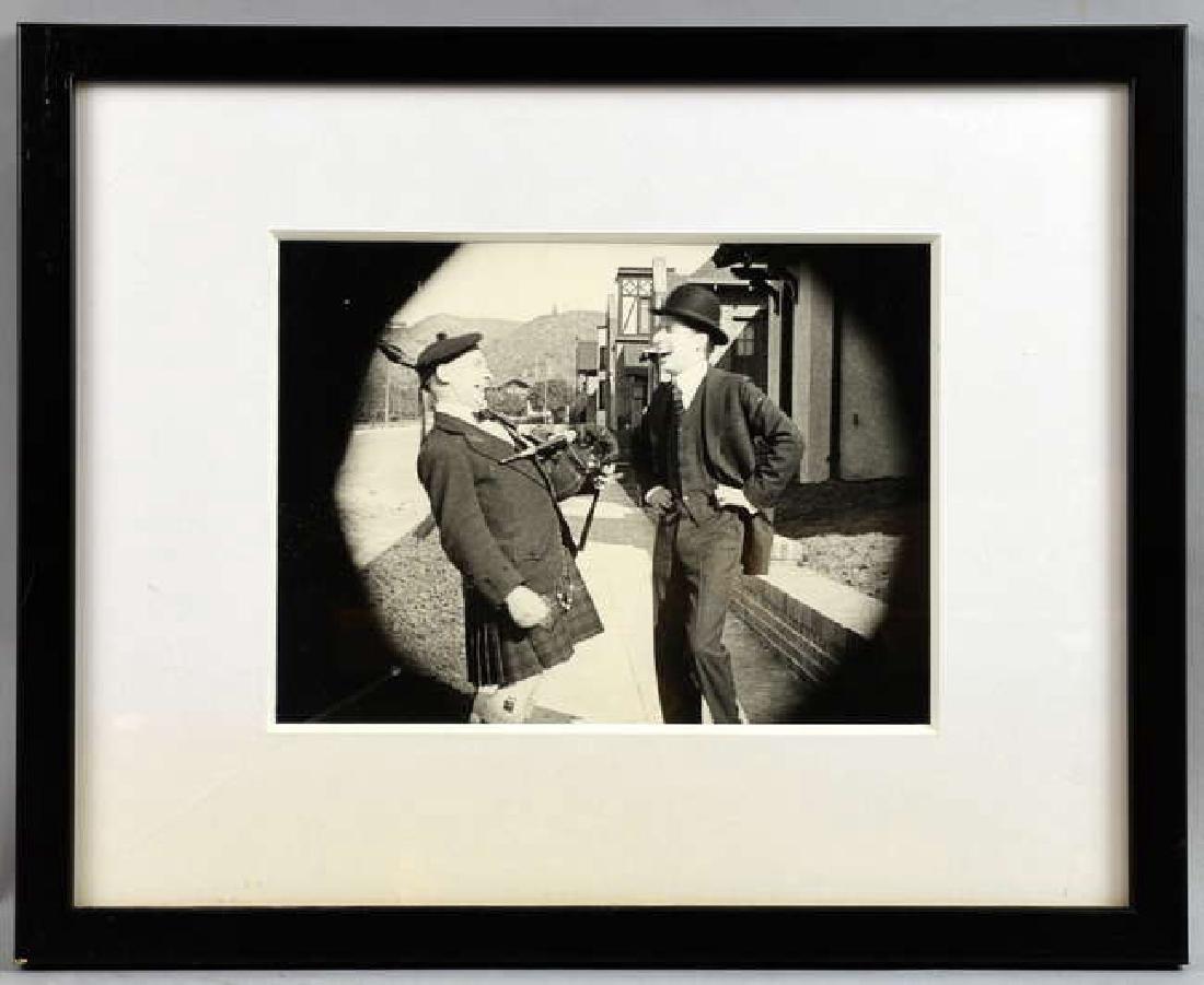 Charlie Chapin - 12 vintage black & white film sti - 7