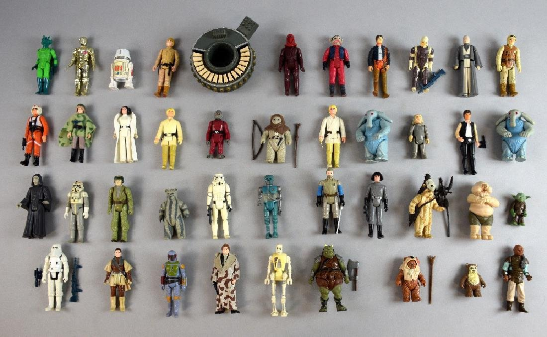 Star Wars - 450+ unboxed figures from 1977 onwards