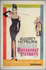 Breakfast at Tiffany's (1961) US One Sheet film po