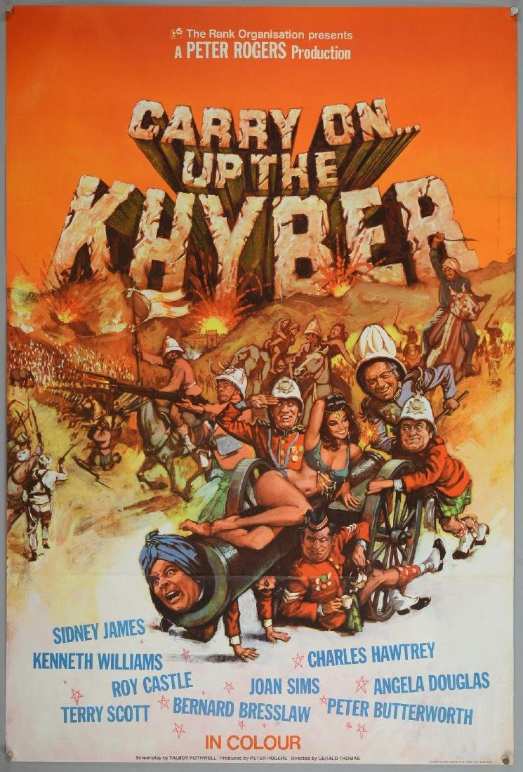 Carry On... Up The Khyber (1968) UK One sheet film