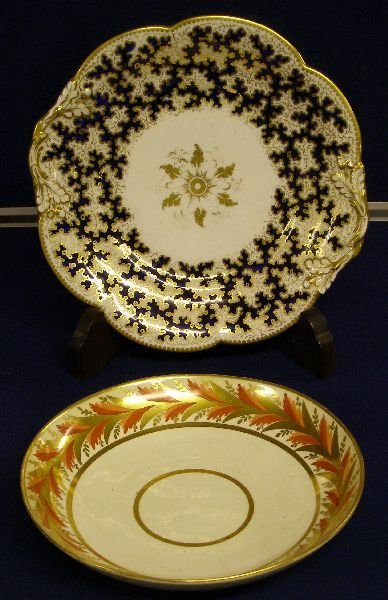 4: Early 19th century Derby bowl with a band of