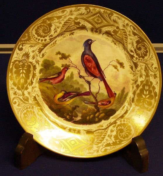 5: Early 19th century Derby cabinet plate,