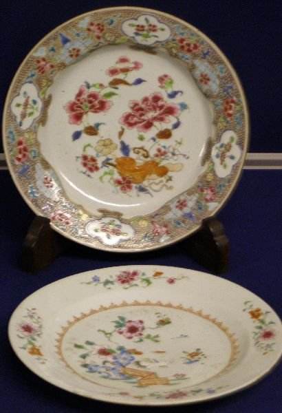 9: 19th century Chinese plate decorated with
