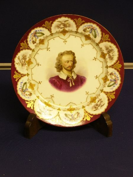 14: Sevres cabinet plate