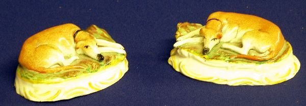 17: Pair of 19th century Staffordshire