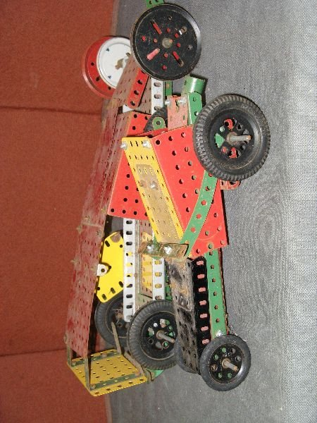 837: Two boxes of early 20th century Meccano