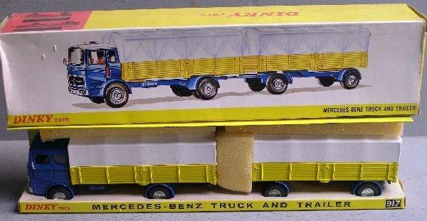840: A Mercedes 917 truck and trailer in original