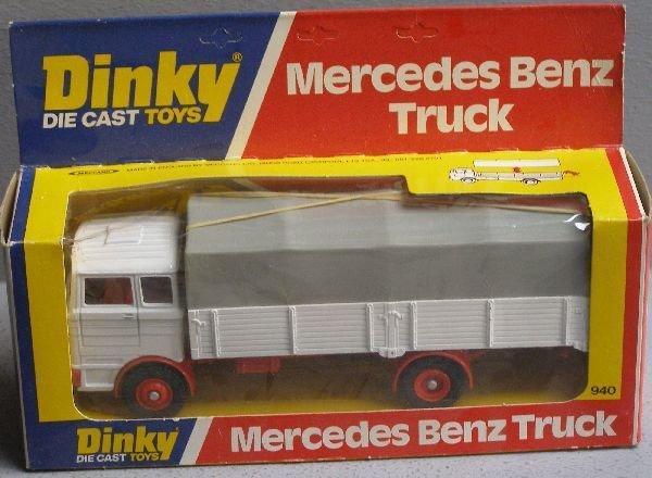 846: Dinky 940 Mercedes Benz truck