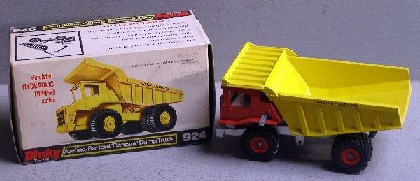848: Dinky 924 Aveling-Barford Centaur dump