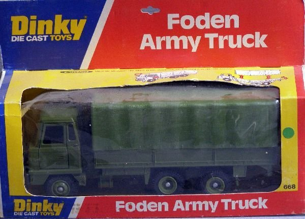 850: A Dinky 668 Foden Army Truck