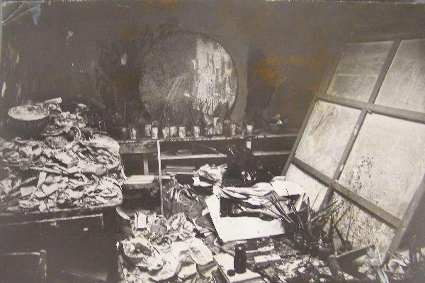2014: Francis Bacon's Studio 7, Reece Mews photograph