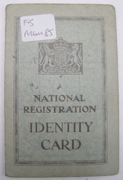 2024: Identity card of Francis Bacon's lover Peter Lacy